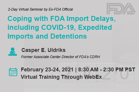 fda-import-program-2019-seminar-training