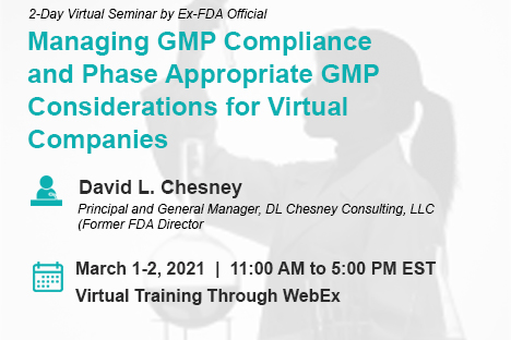 Managing GMP Compliance